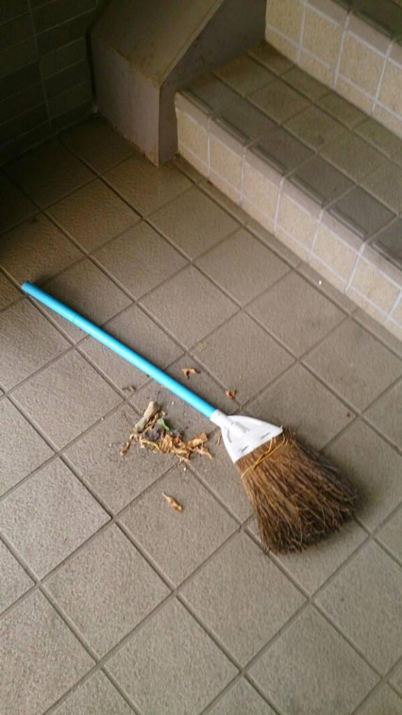 巡回清掃の様子 8月17日