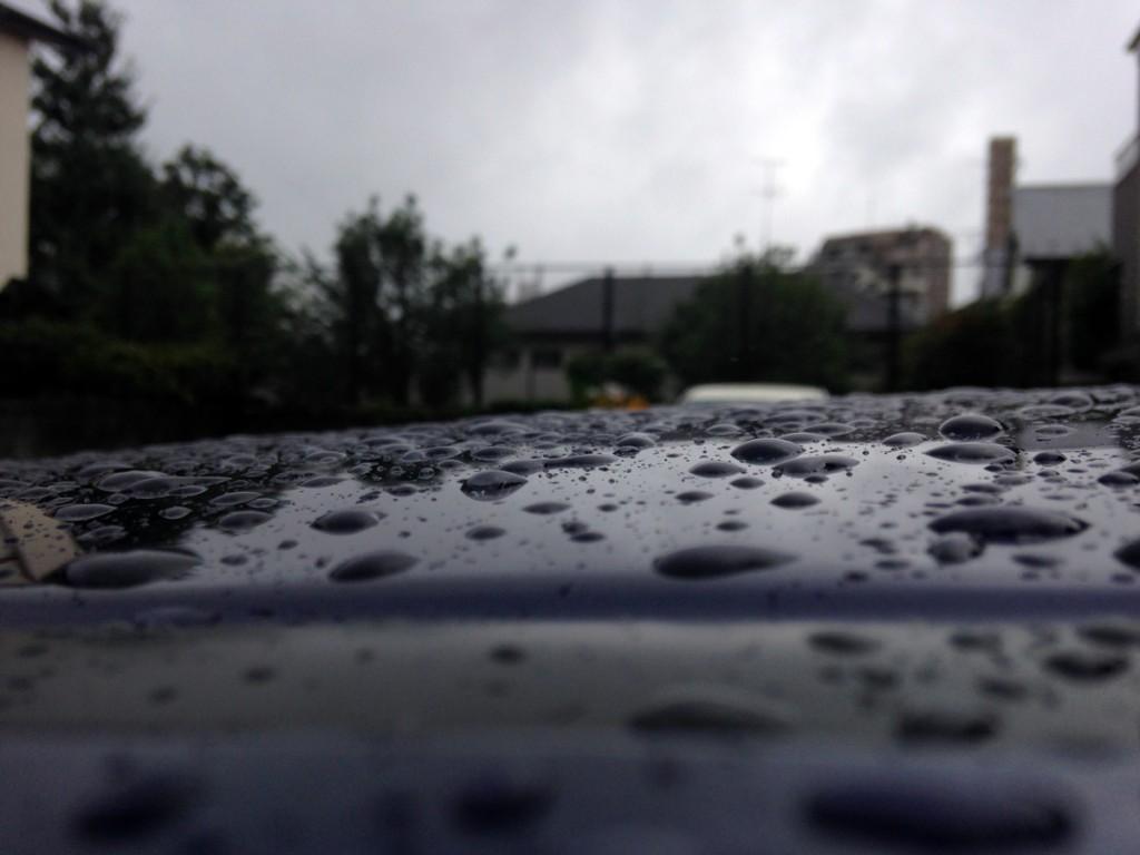 豪雨と漏水