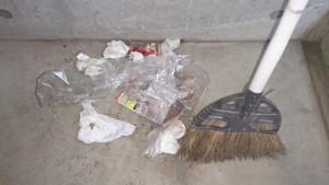 巡回清掃の様子 2月18日