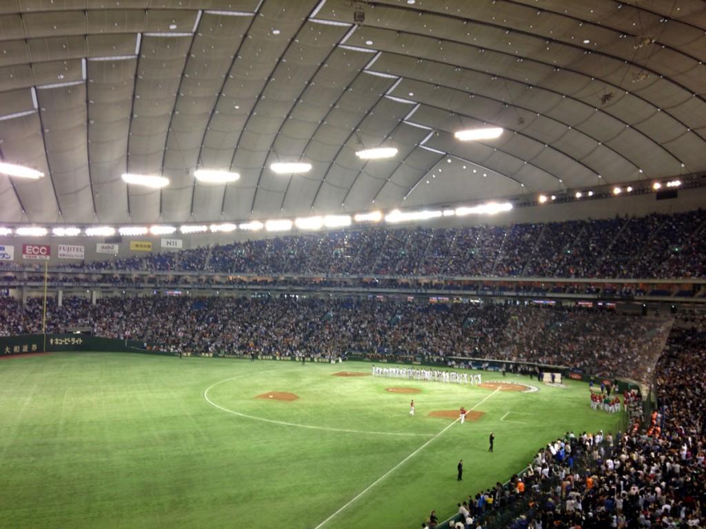 世界野球プレミア12in東京ドーム 3位決定戦へ