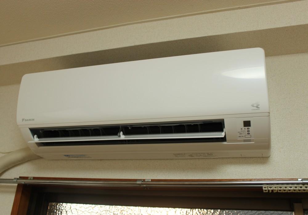 エアコンを自分の所有しているものに交換したい