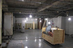 調布の店舗物件の状況確認